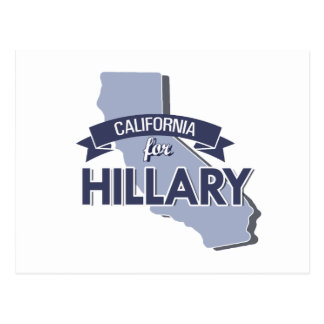 CALIFORNIA FOR HILLARY -.png Postcards