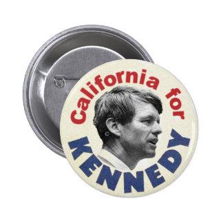 California for Kennedy satire button