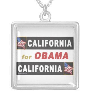 California for Obama Pendants