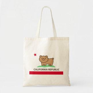 California Frag : Bear Tote Bags Budget Tote Bag