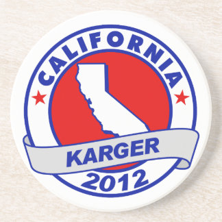 California Fred Karger Coasters