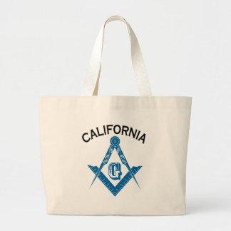 California Freemason Jumbo Tote Bag