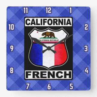 California French American Clock