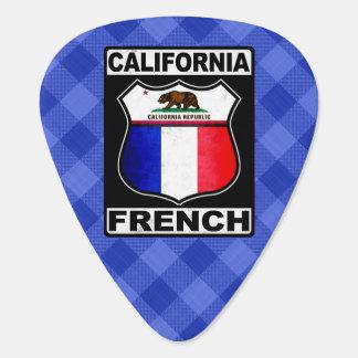 California French American Plektrum Guitar Pick