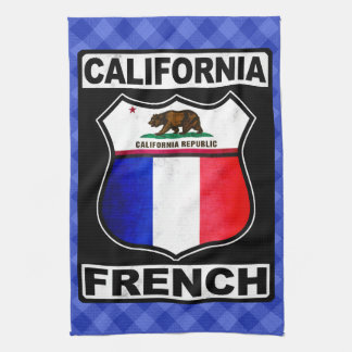 California French American Tea Towel