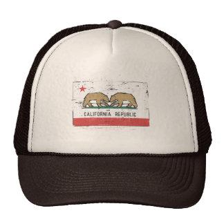 California Gay Marriage Flag Trucker Hats