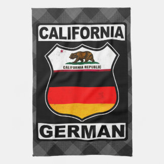 California German American Towel