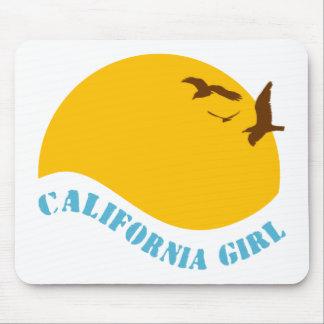 California Girl Mouse Pad