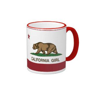 California Girl Ringer Mug