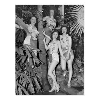 California Girls, 1930s Postcard