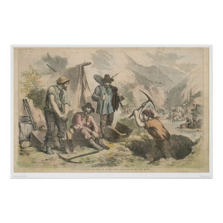 California Gold Diggers (2525A) Poster
