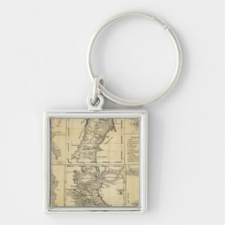 California Gold Rush Key Ring