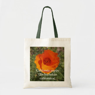 California Golden Poppy, California poppy (Esch... Tote Bag