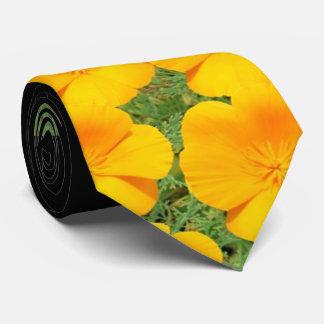 California Golden Poppy Tie
