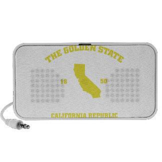 California Golden state Mp3 Speakers
