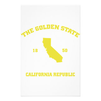 California Golden state Stationery