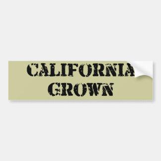 California Grown Bumper Sticker