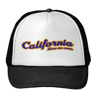 California - Here we come Cap