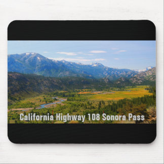 California Highway 108 Sonora Pass Mouse Mat