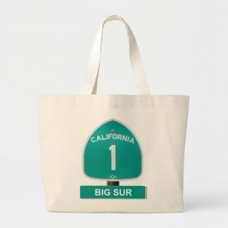 California Highway 1 Big Sur Tote Bag
