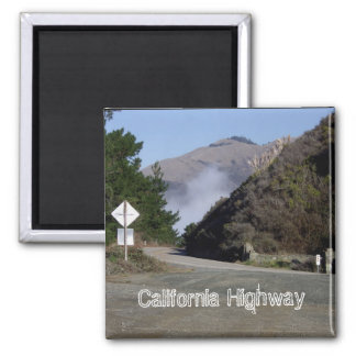 California Highway Magnet