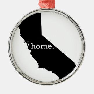 California Home Christmas Ornament