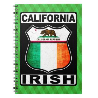 California Irish American Notepad Notebooks