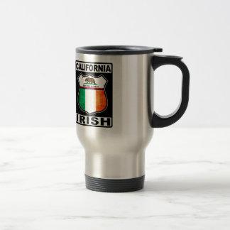 California Irish American Travel Mug