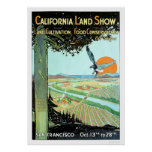California Land Show in San Francisco Poster