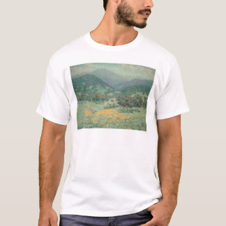 California landscape with Poppies (1213) T-Shirt