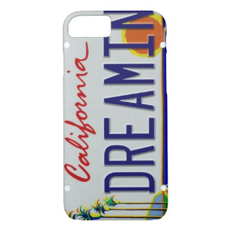 California License Plate iPhone 7 Case