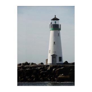 California Lighthouse Acrylic Print