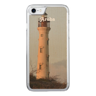 California Lighthouse Carved iPhone 8/7 Case