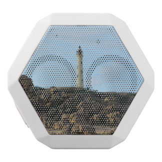 California Lighthouse in Aruba White Boombot Rex Bluetooth Speaker