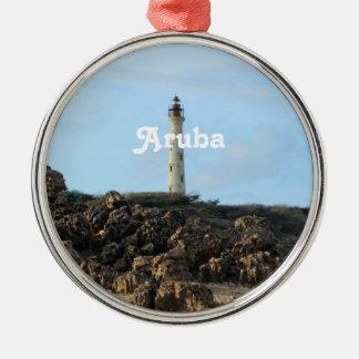 California Lighthouse in Aruba Christmas Ornament