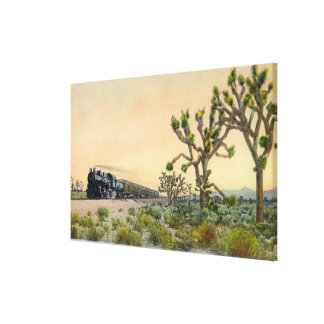 California Limited Train Travelling Through Canvas Prints