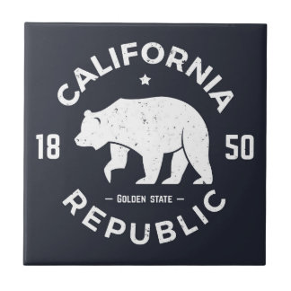 California Logo | The Golden State Tile