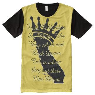 California Love 101 All-Over Print T-Shirt