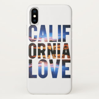 California love iPhone x case