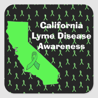 California Lyme Disease Awareness Sticker
