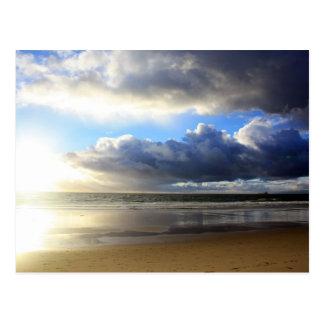 California - Manhattan Beach. J Postcard