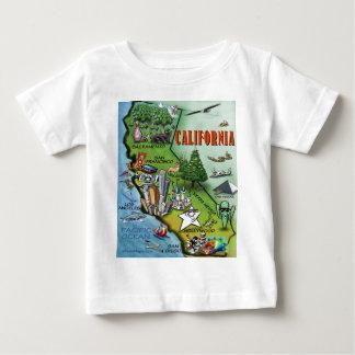 California Map Baby T-Shirt