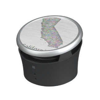 California map bluetooth speaker