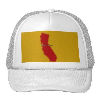CALIFORNIA MAP CAP