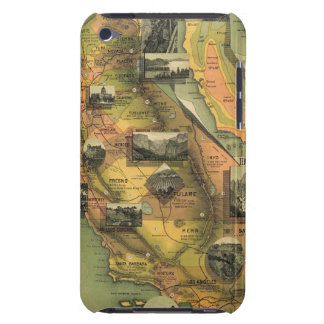 California Map iPod Case-Mate Case