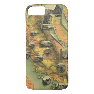 California Map iPhone 8/7 Case