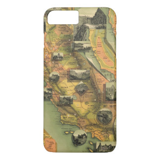 California Map iPhone 8 Plus/7 Plus Case