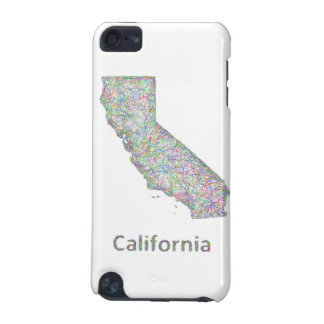 California map iPod touch 5G cases