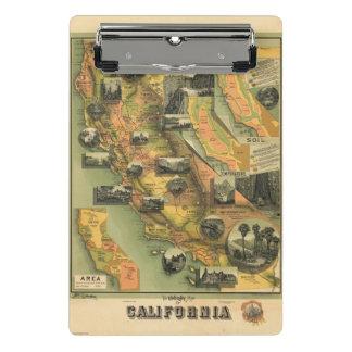 California Map Mini Clipboard