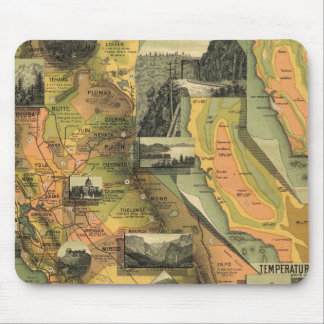California Map Mouse Pad